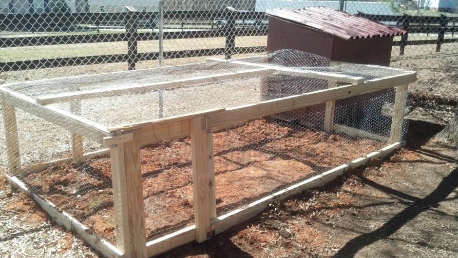 Building the Chicken Run
