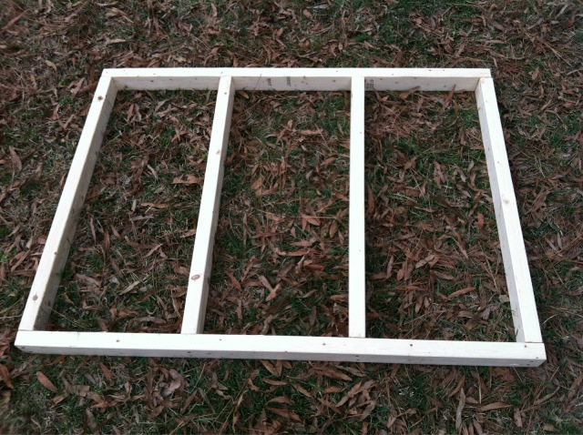 Chicken Coop Floor Frame