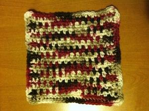 Plain and Simple Crochet Dishcloth