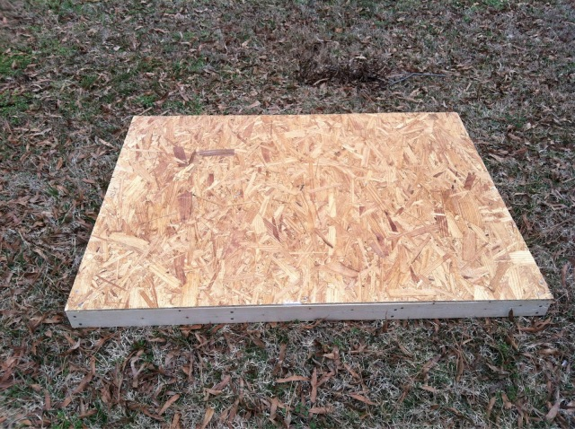 Floor with 1/4 inch OSB