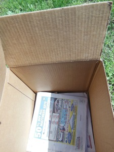 Cardboard and Newspaper for Weed Control