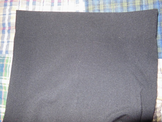 Stitching Barely Visible When Pants Turned Right-side Out