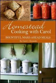 Homestead Cooking with Carol: Bountiful Make-ahead Meals – Book Review