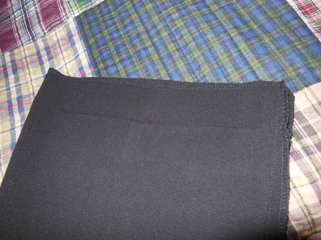Visible Crease of Hem