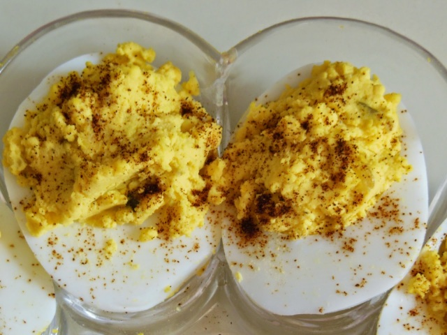 Filled Deviled Eggs