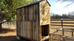 Building-The-Chicken-Coop-With-Pallets