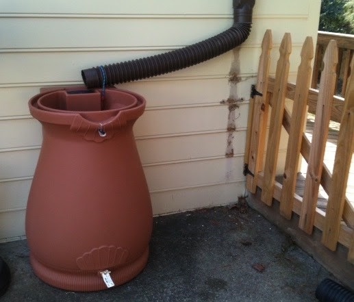 Rain water catchment barrel