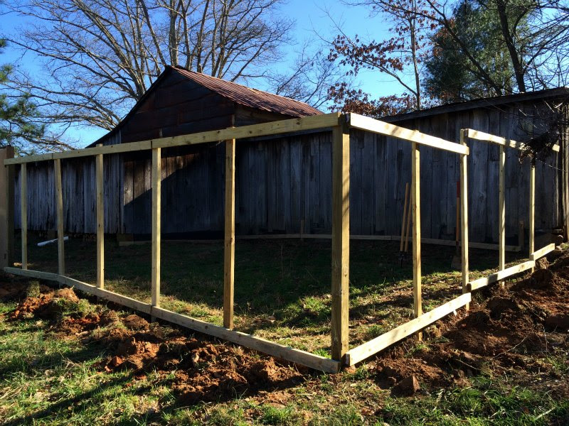 Building a Chicken Run