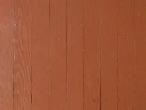 Painted Hardwood Floors in 1940 Farmhouse