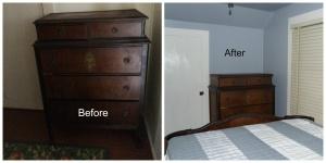 Antique 5-drawer Chest
