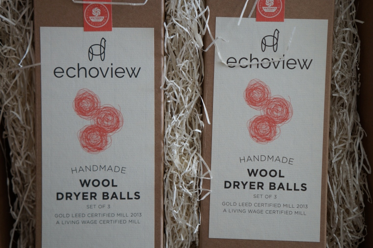 Echoview Handmade Wool Dryer Balls